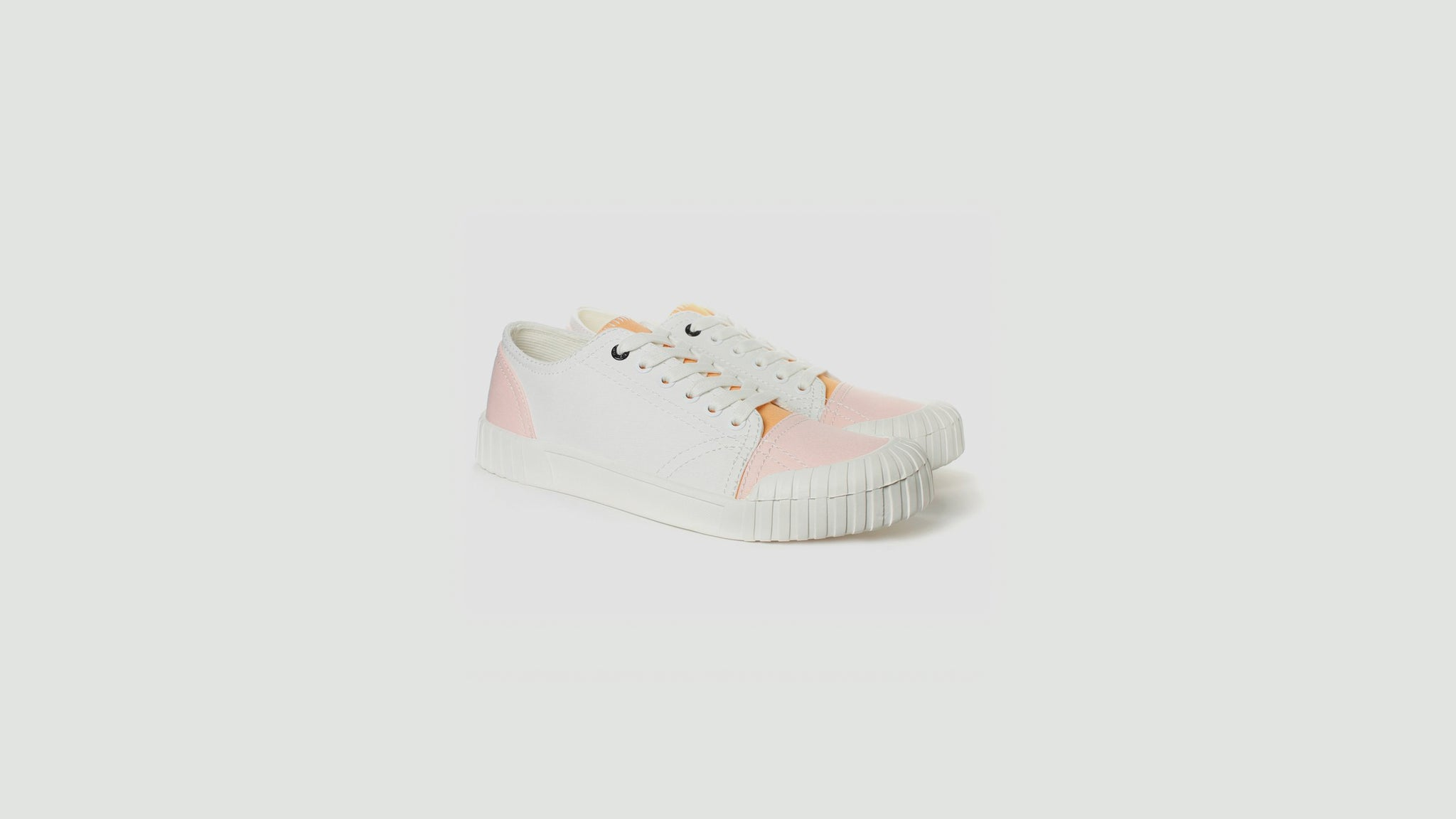 Good News. Abe white pink low