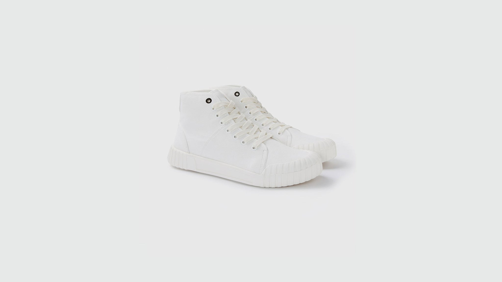 Good News. Bagger high sneakers white