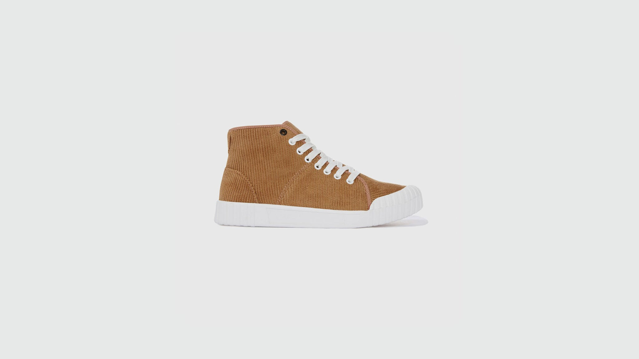 Good News. Rhubarb high sneakers tan