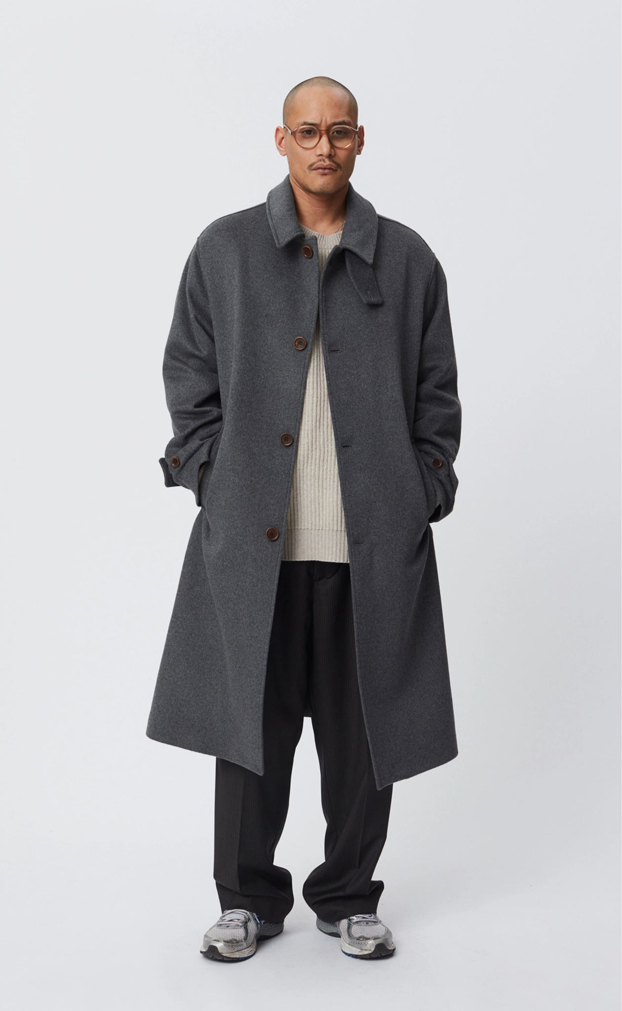 Hollis coat grey