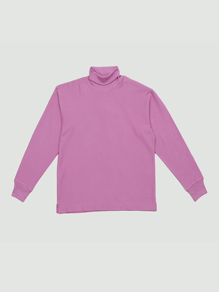 Lemaire. Turtle neck T-Shirt pink