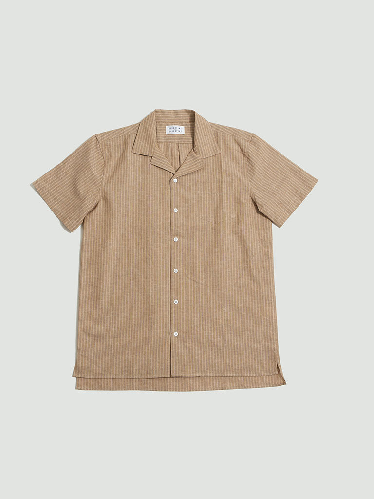 Libertine Libertine. Cave S/S shirt electric pin