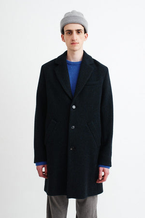 Don Carlo coat herringbone