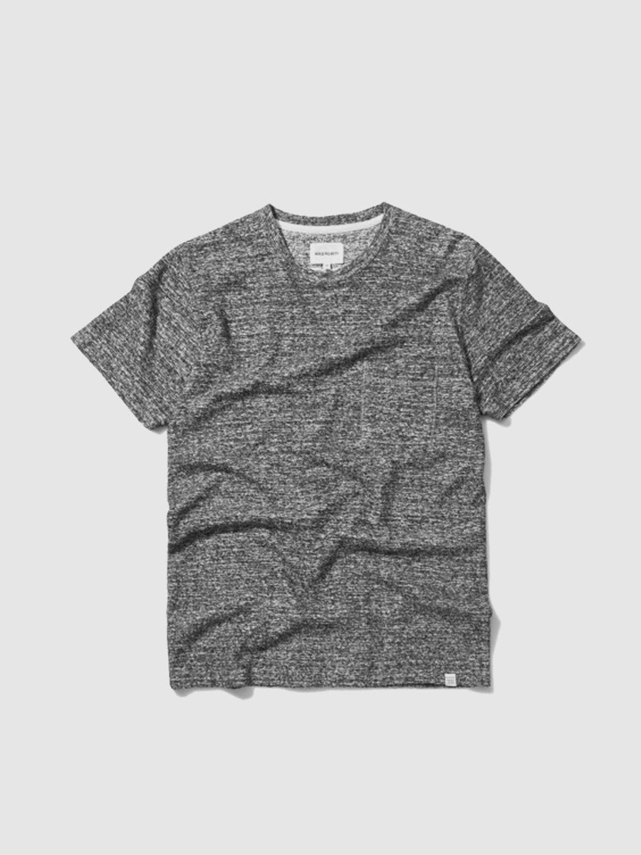 Grey japanese pocket t-shirt by Norse Projects