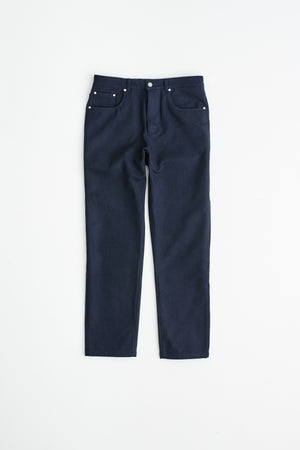 Odon Wide jeans wool dark navy