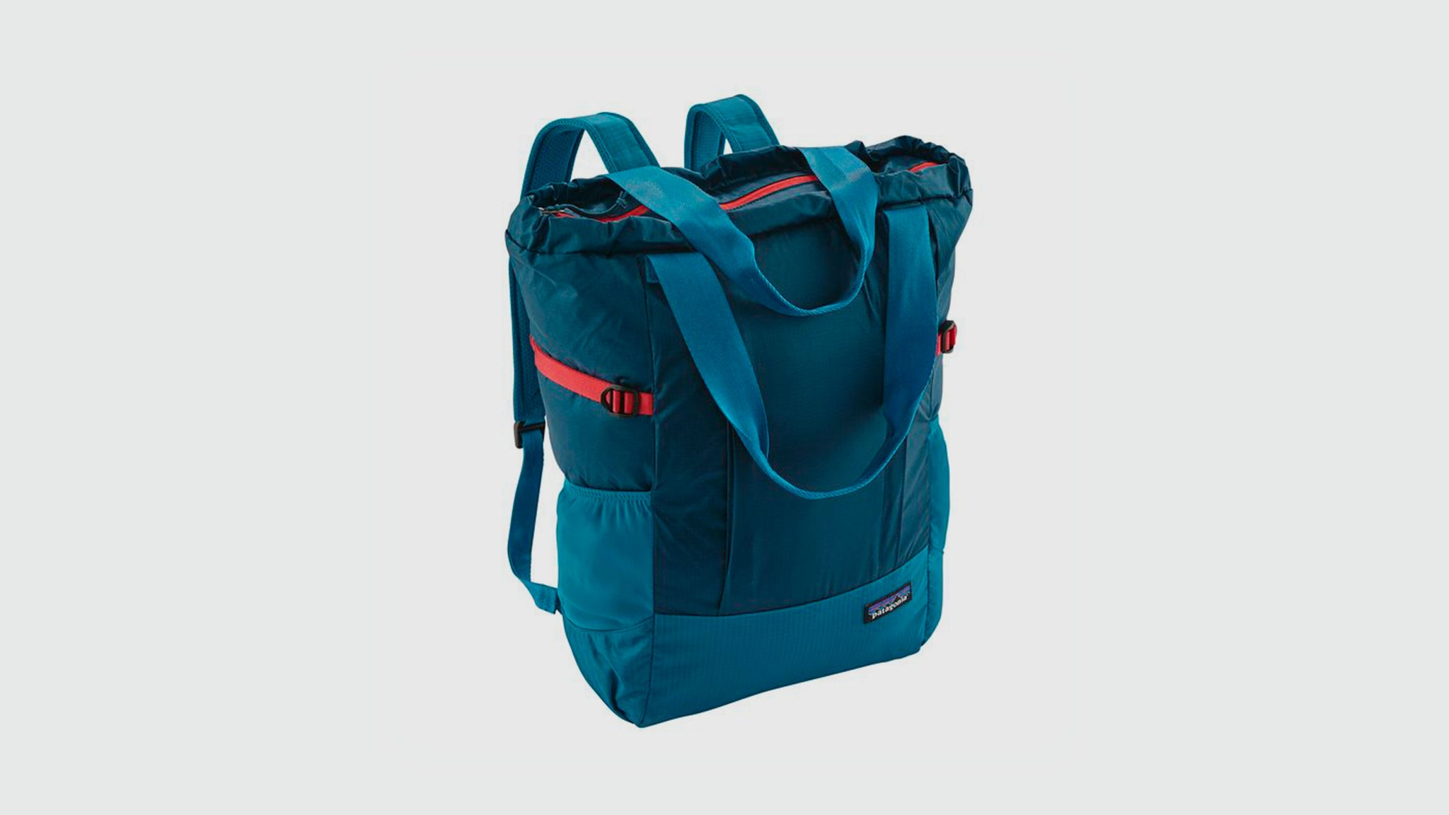 Patagonia. Lightweight travel tote pack big sur blue