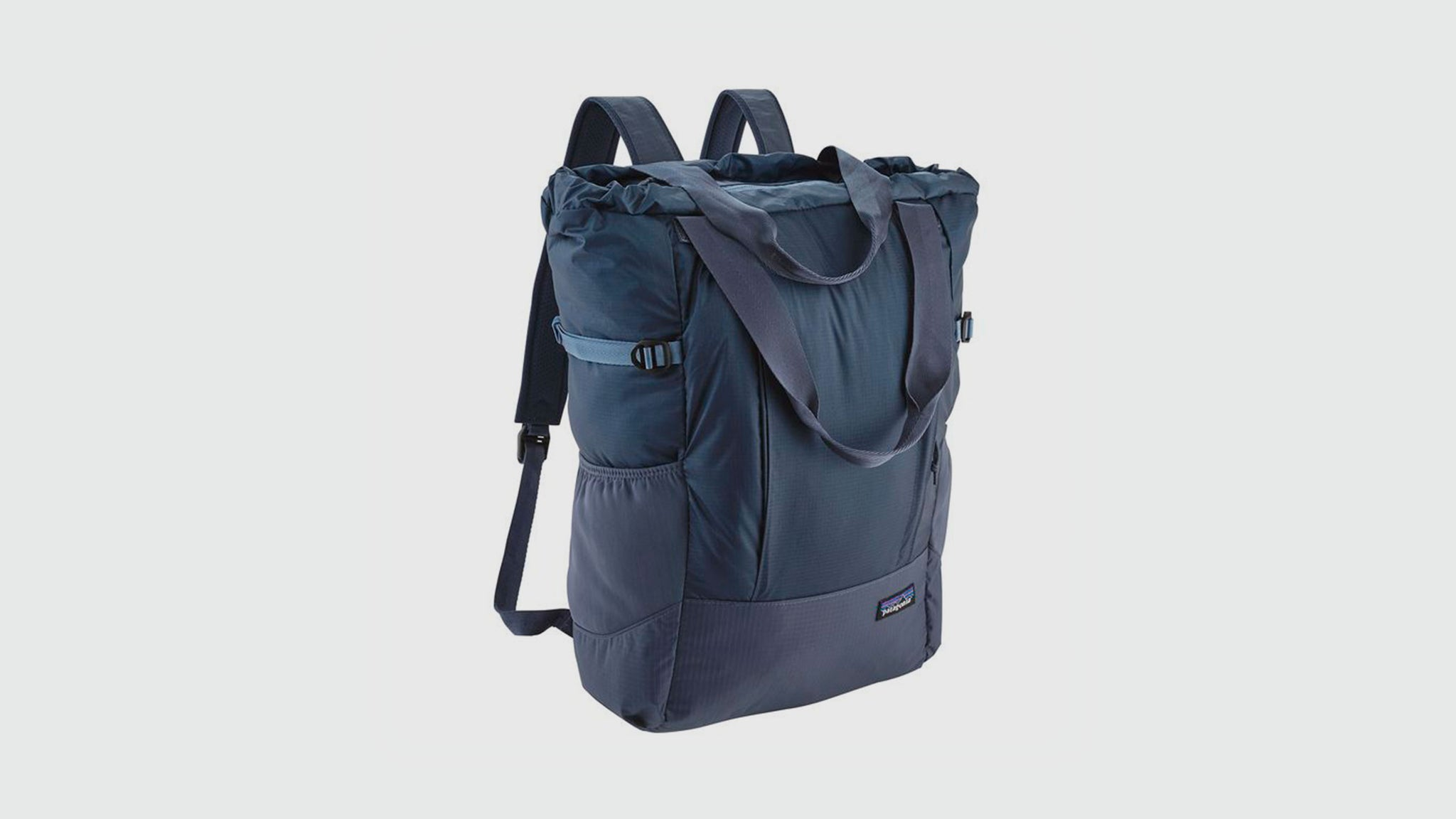 Patagonia. Lightweight travel tote pack dolomite blue