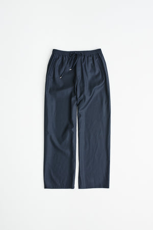 Samurai trousers virgin wool navy