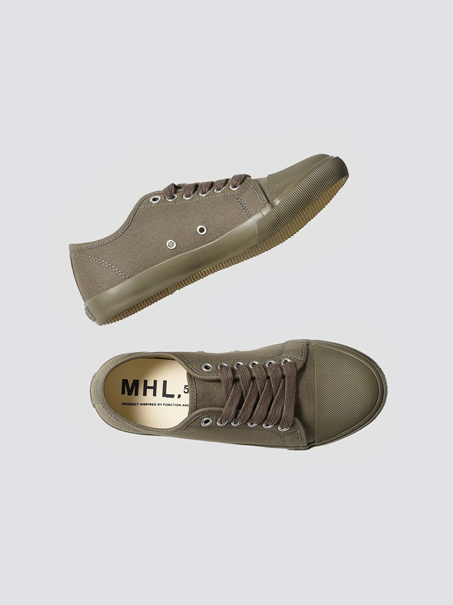 MHL military plimsole light khaki