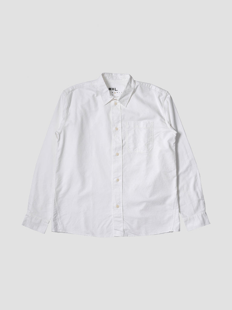 Painters Shirt in optical white