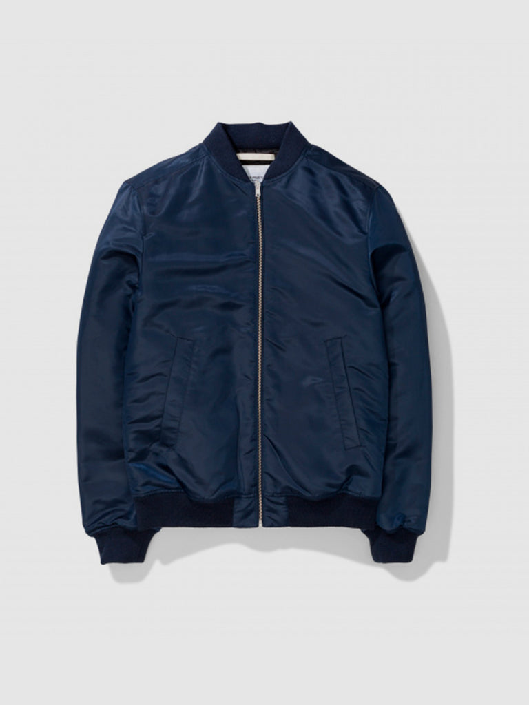 Ryan Nylon Sateen jacket in blue by Norse Projects