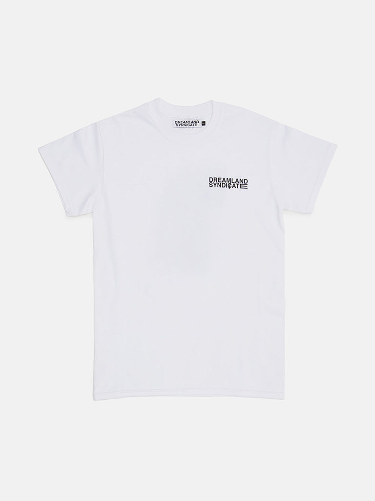 Dreamland Syndicate. Moire T-Shirt white