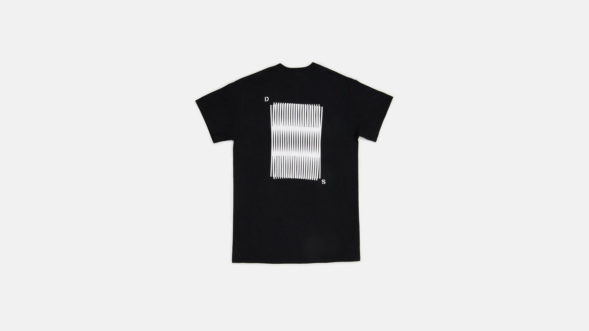 Moire T-Shirt black