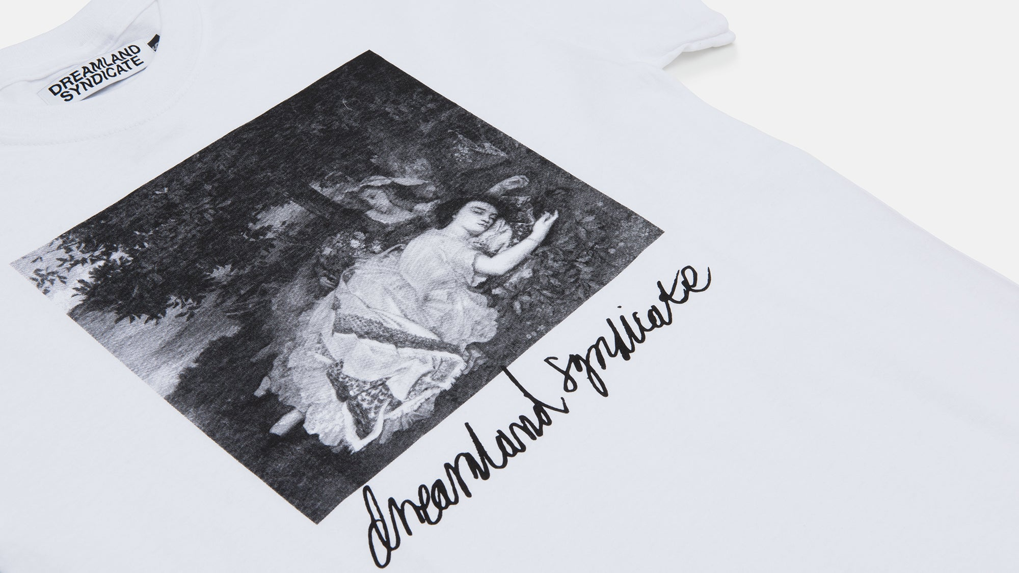 Dreamland Syndicate. Ladies T-Shirt white
