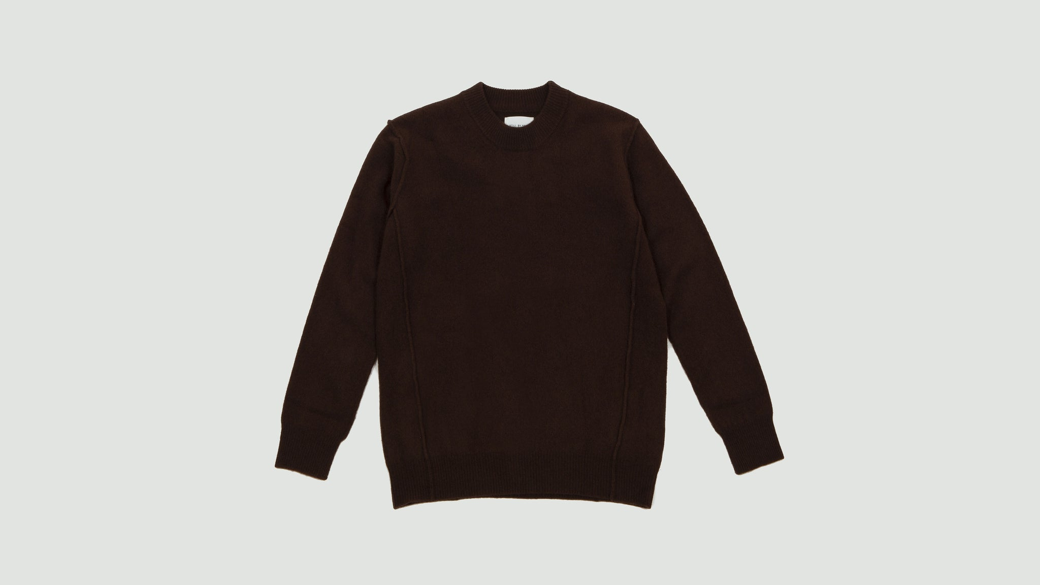 Still by Hand. Shaggy knit brown