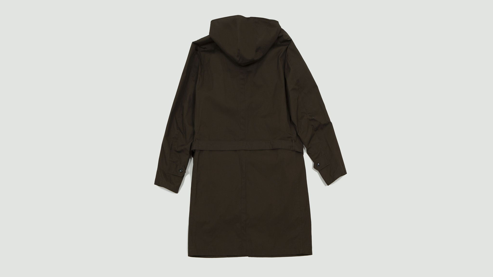 Still by Hand. Detachable lining coat brown
