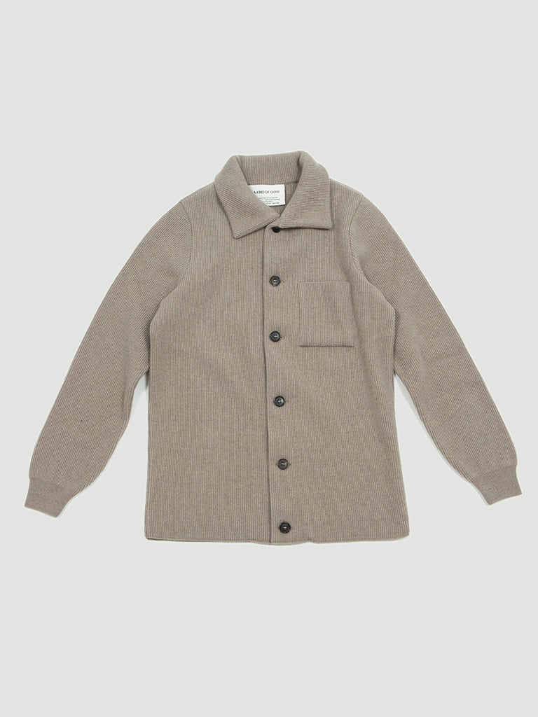 A Kind of Guise. Jiri Knit Jacket sand