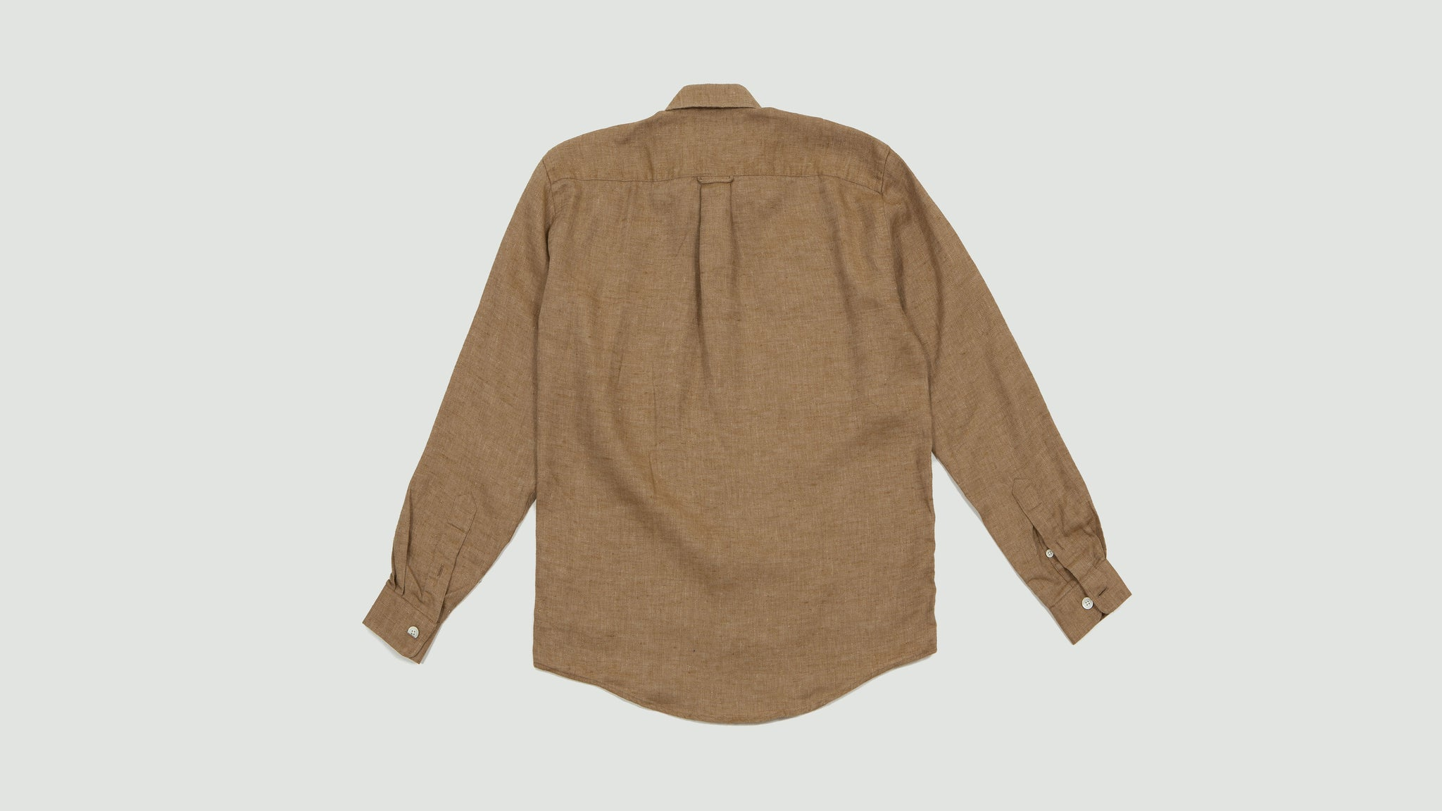 Schnayderman's. Shirt linen oversized brown