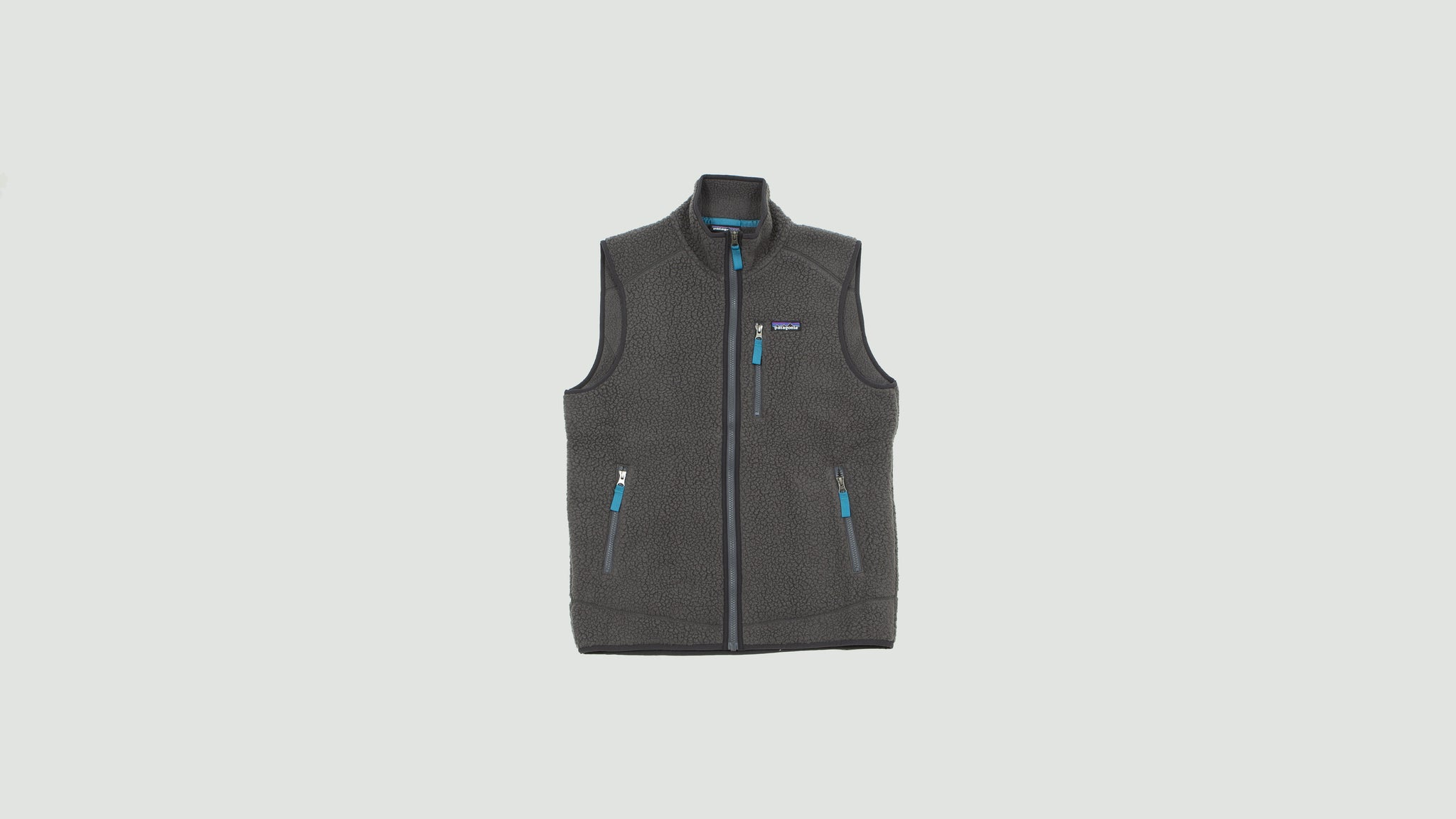 Patagonia. Mens Retro pile Vest grey