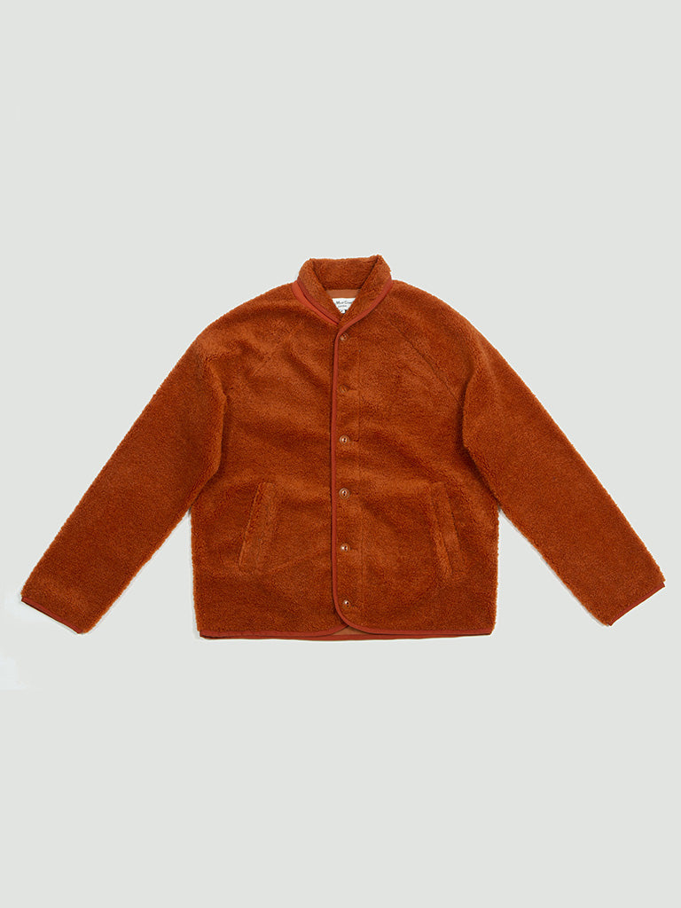 YMC. Beach jacket rust