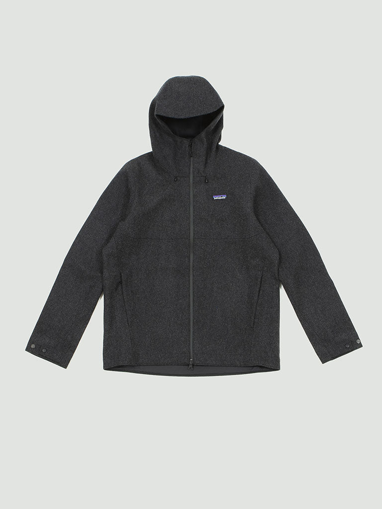 Patagonia. Recycled wool jacket forge grey