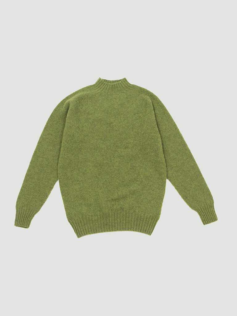 YMC. Montand turtleneck sweater green