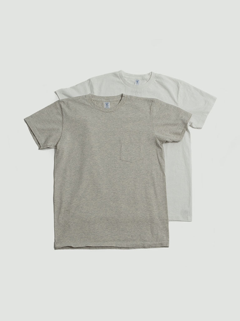 Velva Sheen. 2 Pack tee white/oat