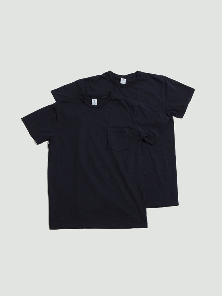 Velva Sheen. 2 Pack tee navy