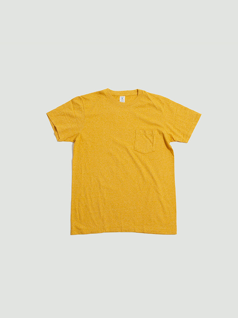 Velva Sheen. Mock twist tee gold