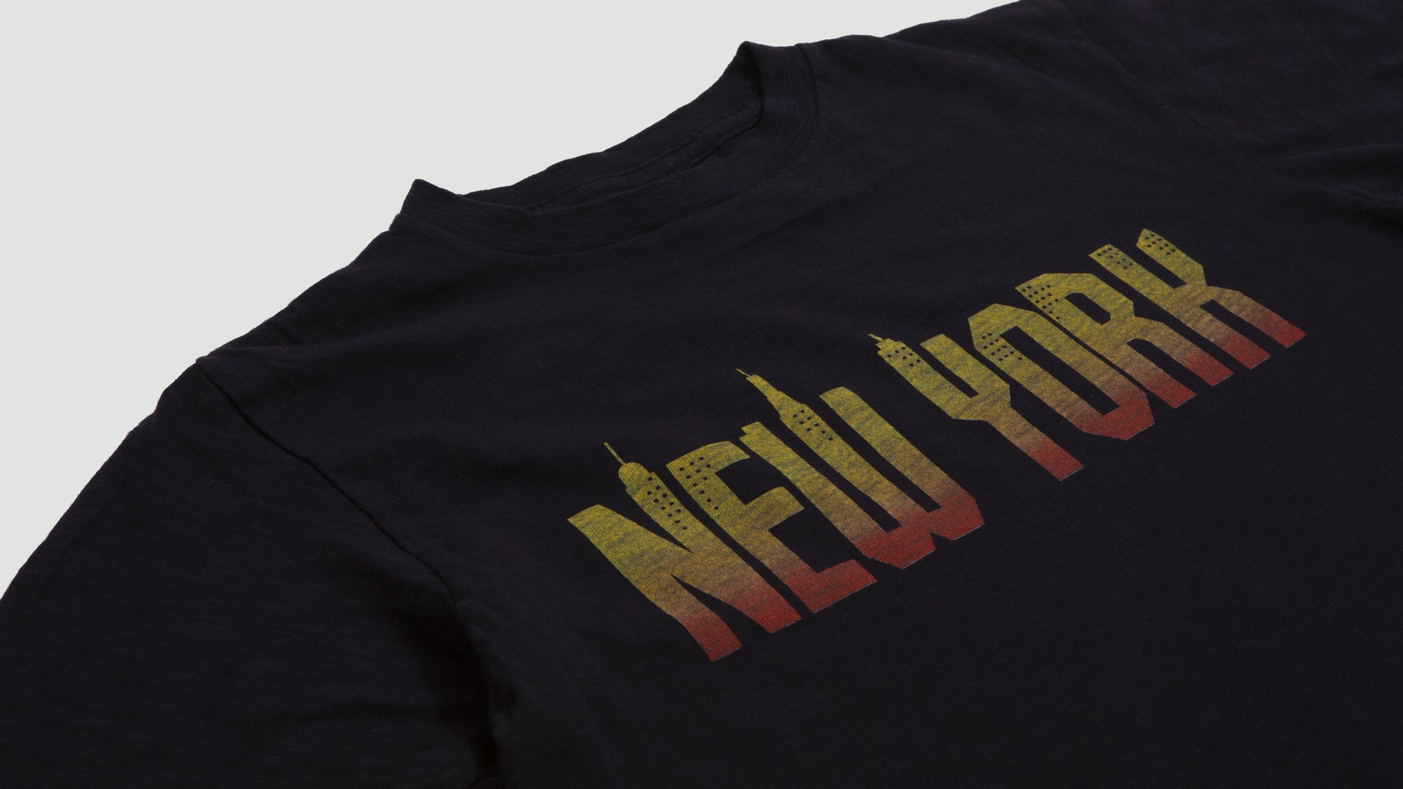 Velva Sheen. New York tee navy