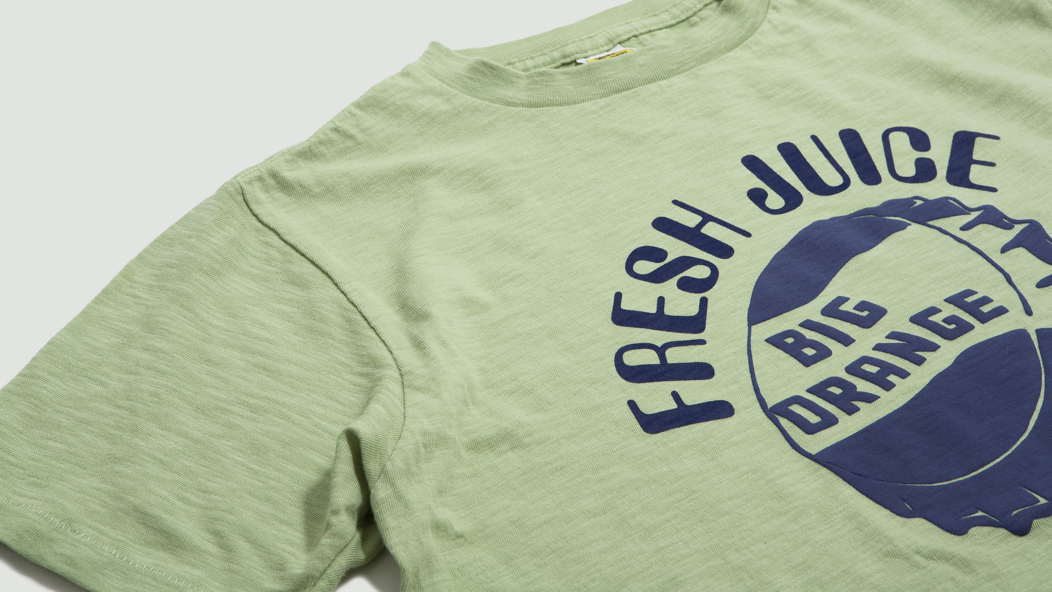 Velva Sheen. Fresh Juice tee green
