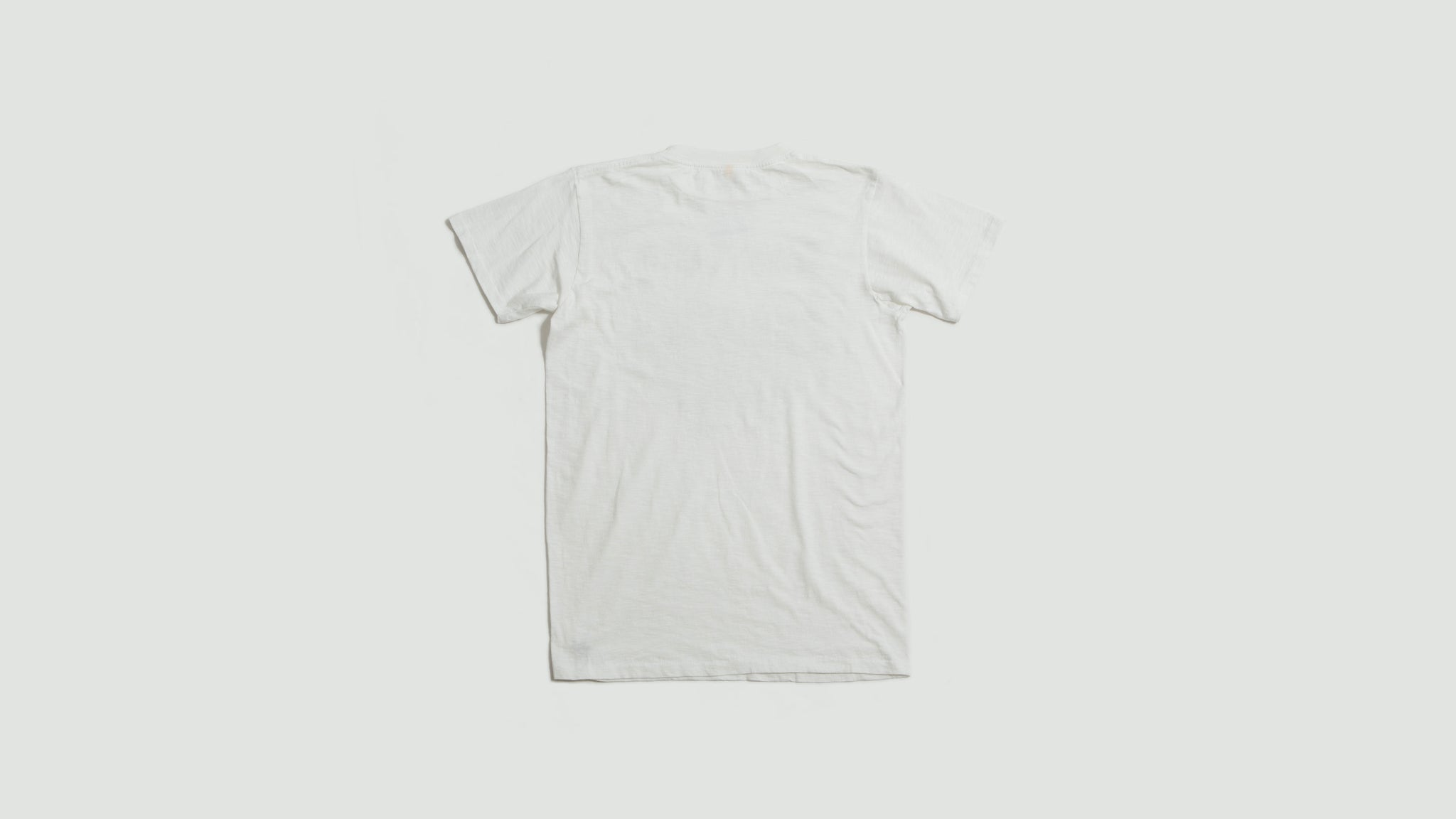 Sawtooth tee white