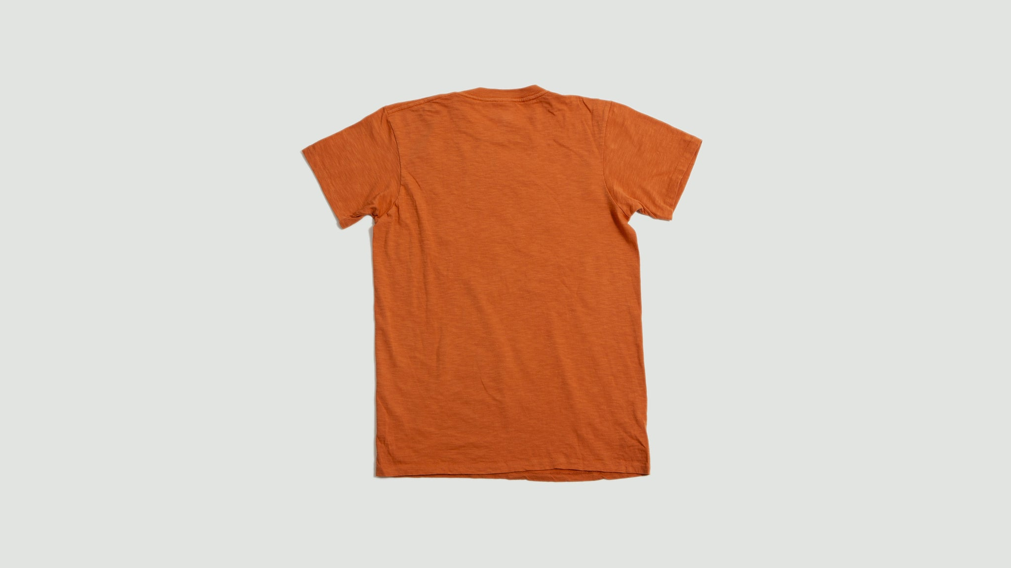 Sawtooth tee orange