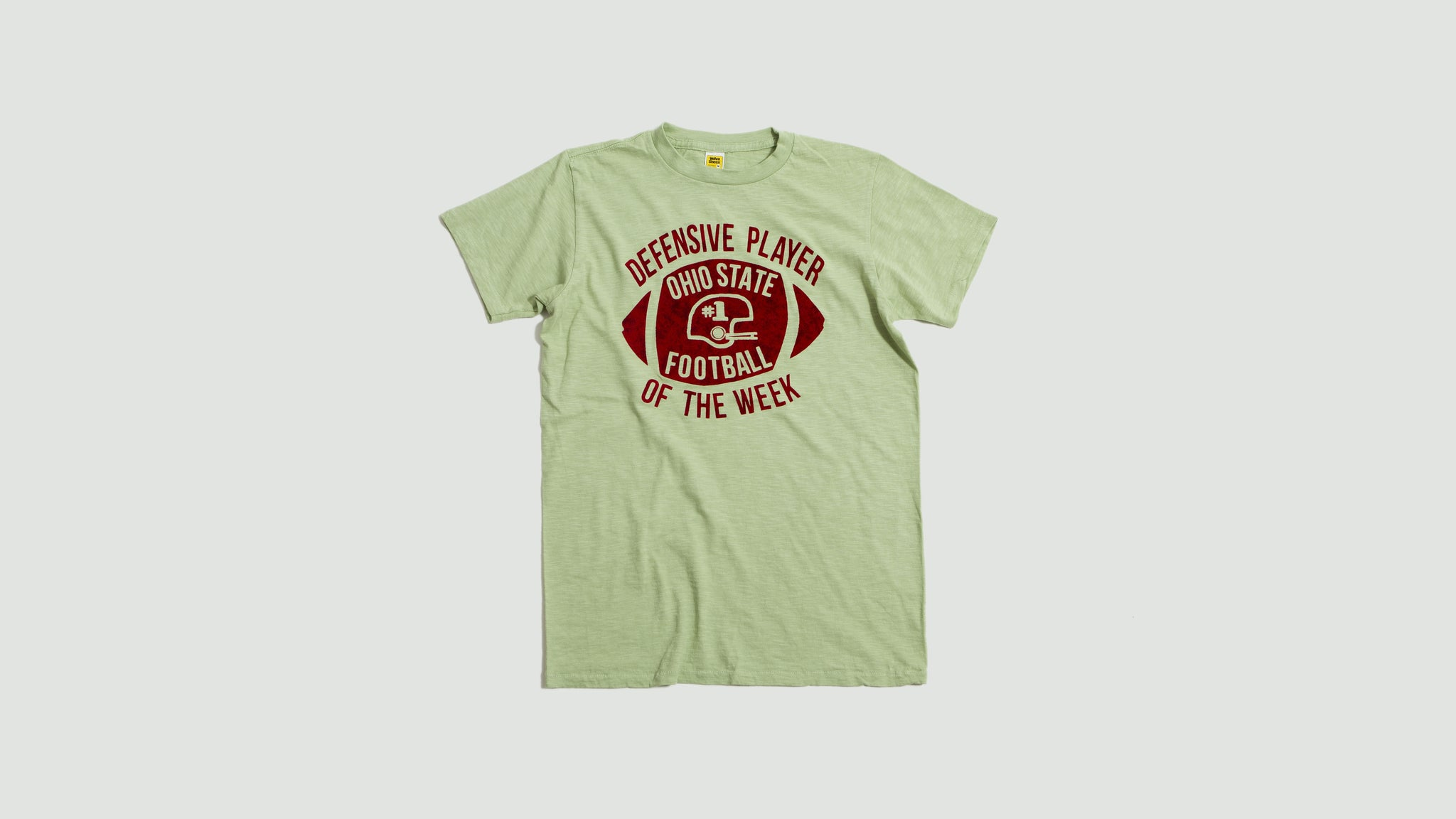 Velva Sheen. Defensive player tee green