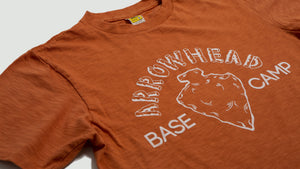 Arrowhead tee orange