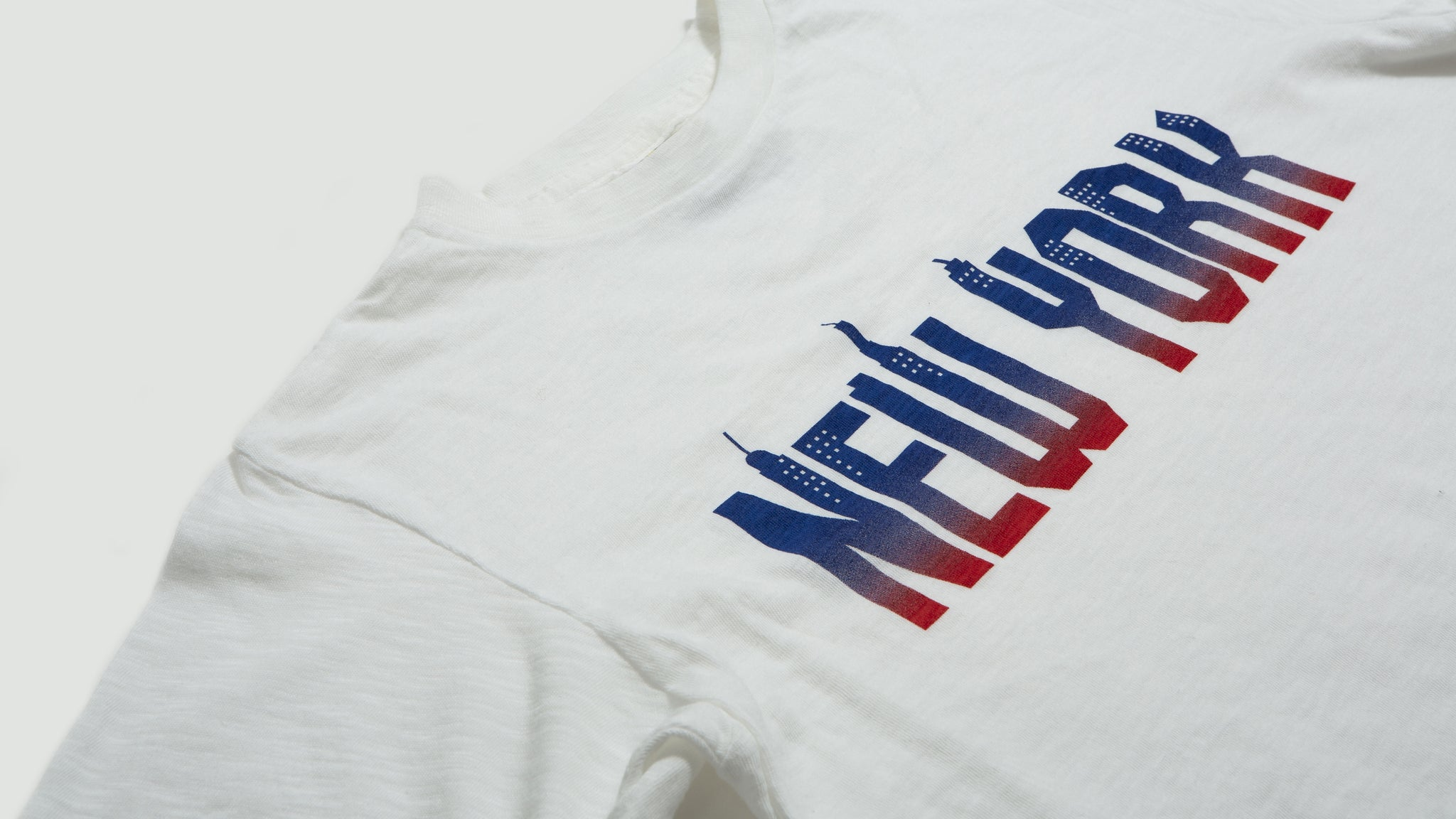 Velva Sheen. New York tee white