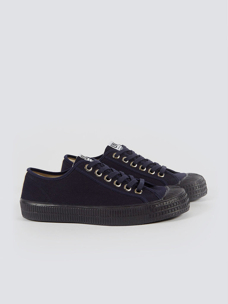 Universal Works X Novesta Star Master UW In Navy Canvas