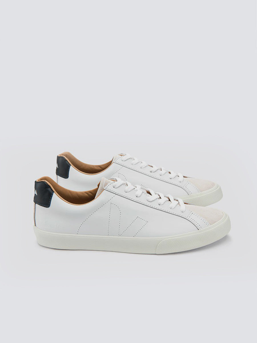 Esplar low leather white sneakers by Veja x Balivaris