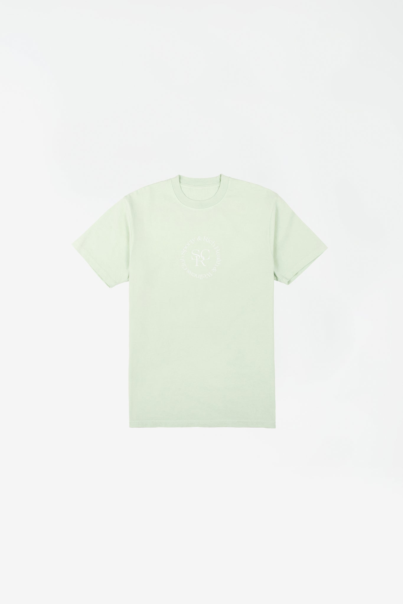 SRHWC t-shirt mint cream