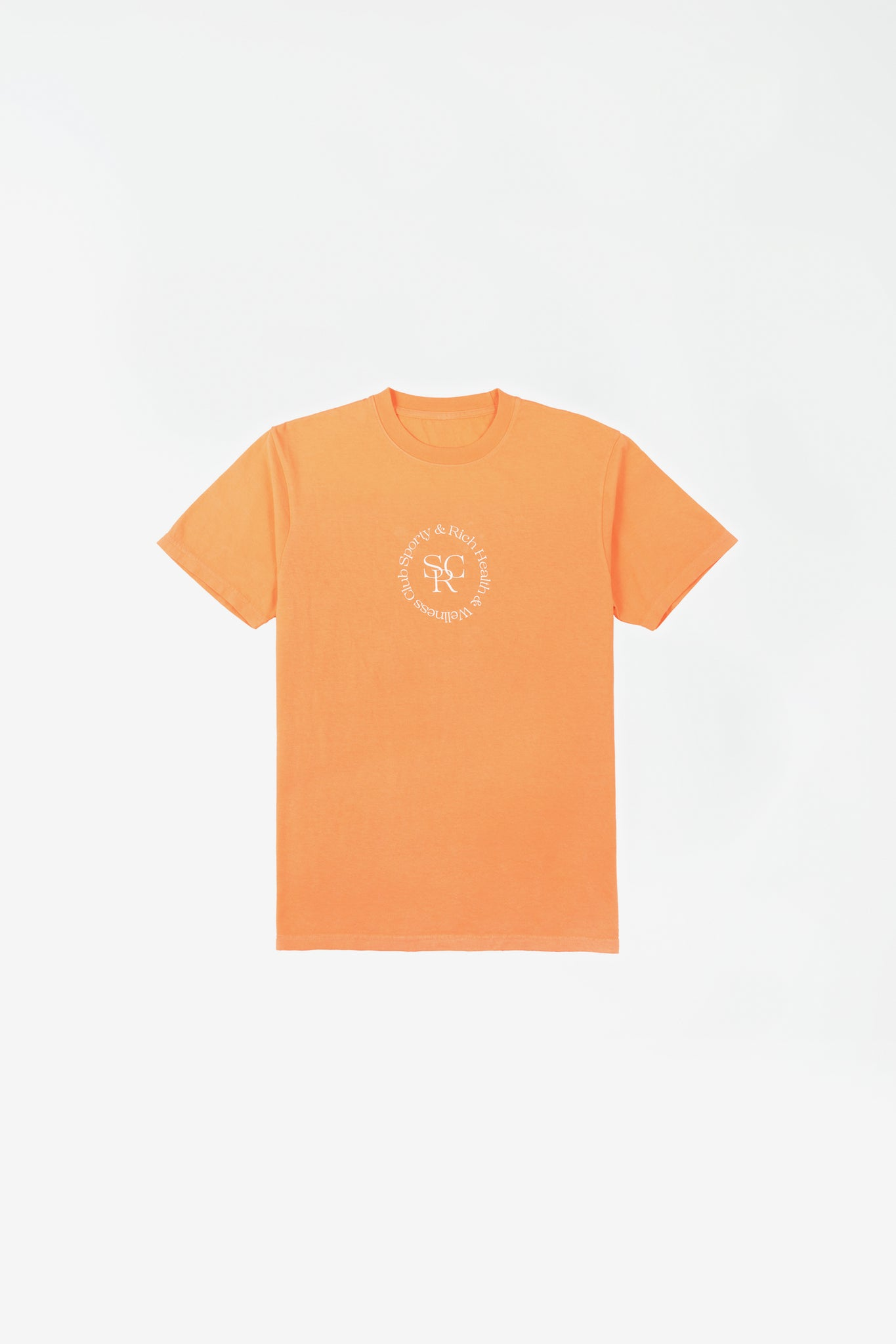 SRHWC t-shirt orange cream
