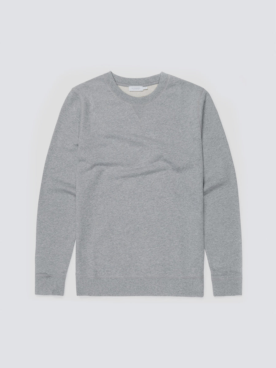 Loopback sweatshirt in grey