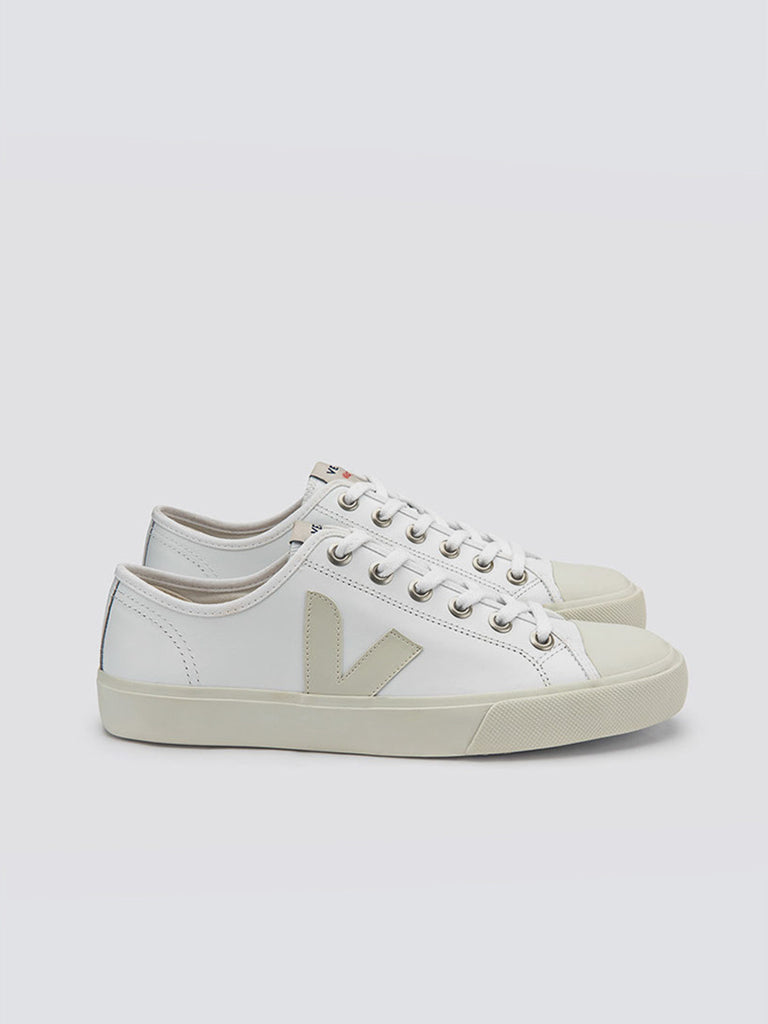 Wata leather in white