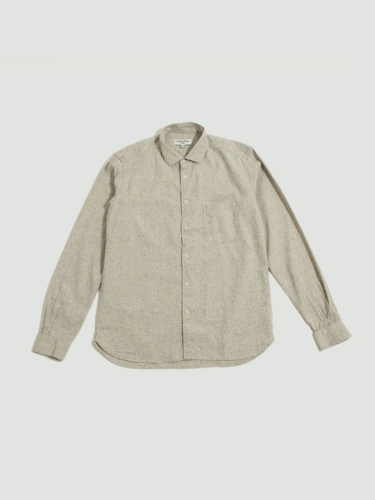 YMC. Curtis shirt cream