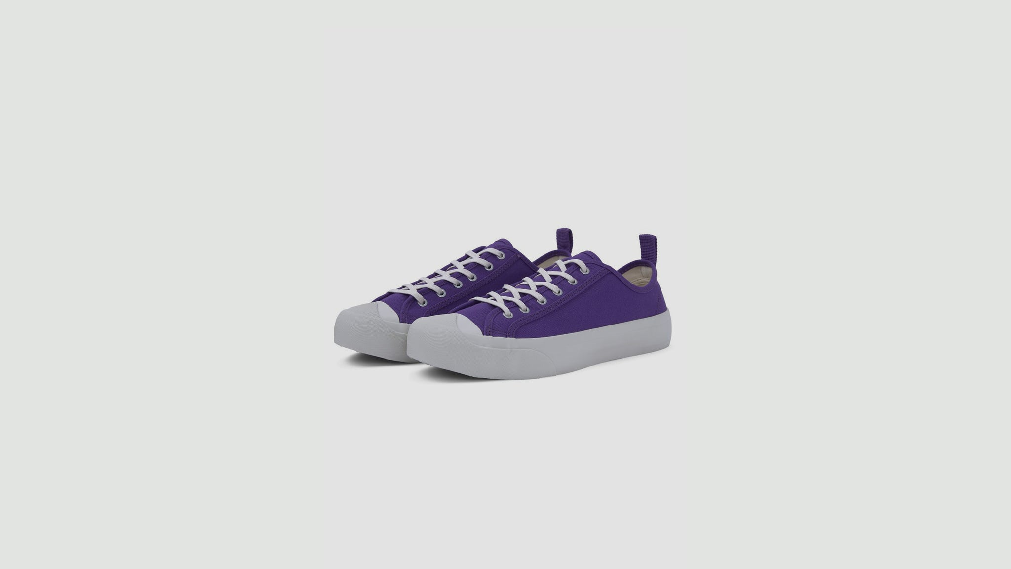 Wing Tip trainers purple