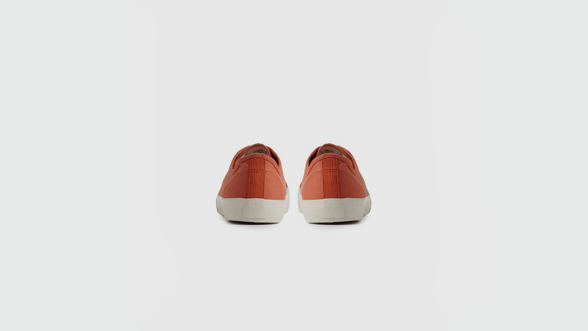 YMC. Canvas sneakers rust
