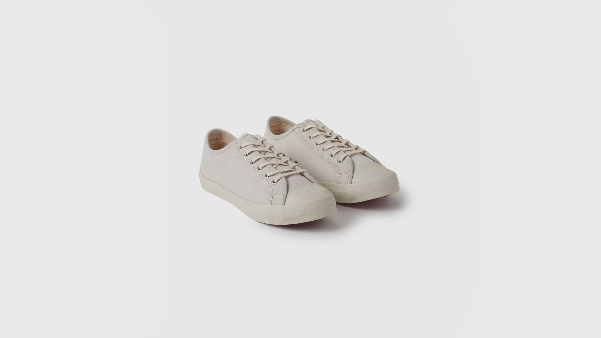 YMC. Canvas sneakers off white