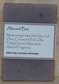 RCS Handcrafted Soap: Almond Bar