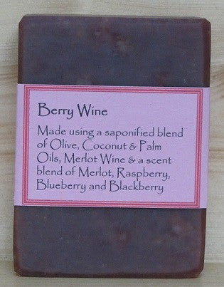 RCS Handcrafted Soap: Berry Wine Bar