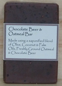 RCS Handcrafted Soap: Chocolate Beer & Oatmeal Bar