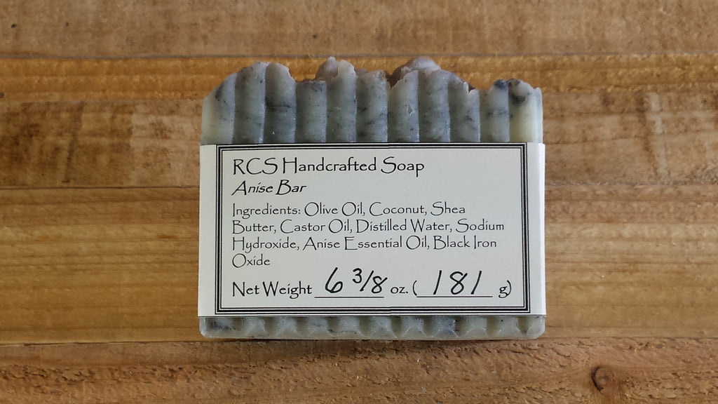 RCS Handcrafted Soap: Anise Bar - Large